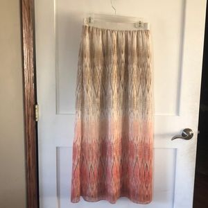 Maxi Chicos shimmer skirt